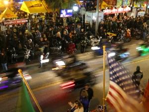 News-Journal/JIM TILLER   Night scenes from Bike Week 2015 on Main Street in Daytona Beach Saturday, March 9, 2015