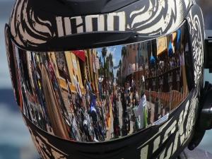 News-Journal/JIM TILLER on the final big day of Bike Week 2015 on Main Street in Daytona Beach Saturday , March 14, 2015.