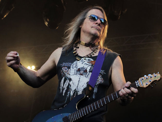 The Steve Morse Band will be playing at The Bank & Blues on May 16, 2015. Doors open at 8:00