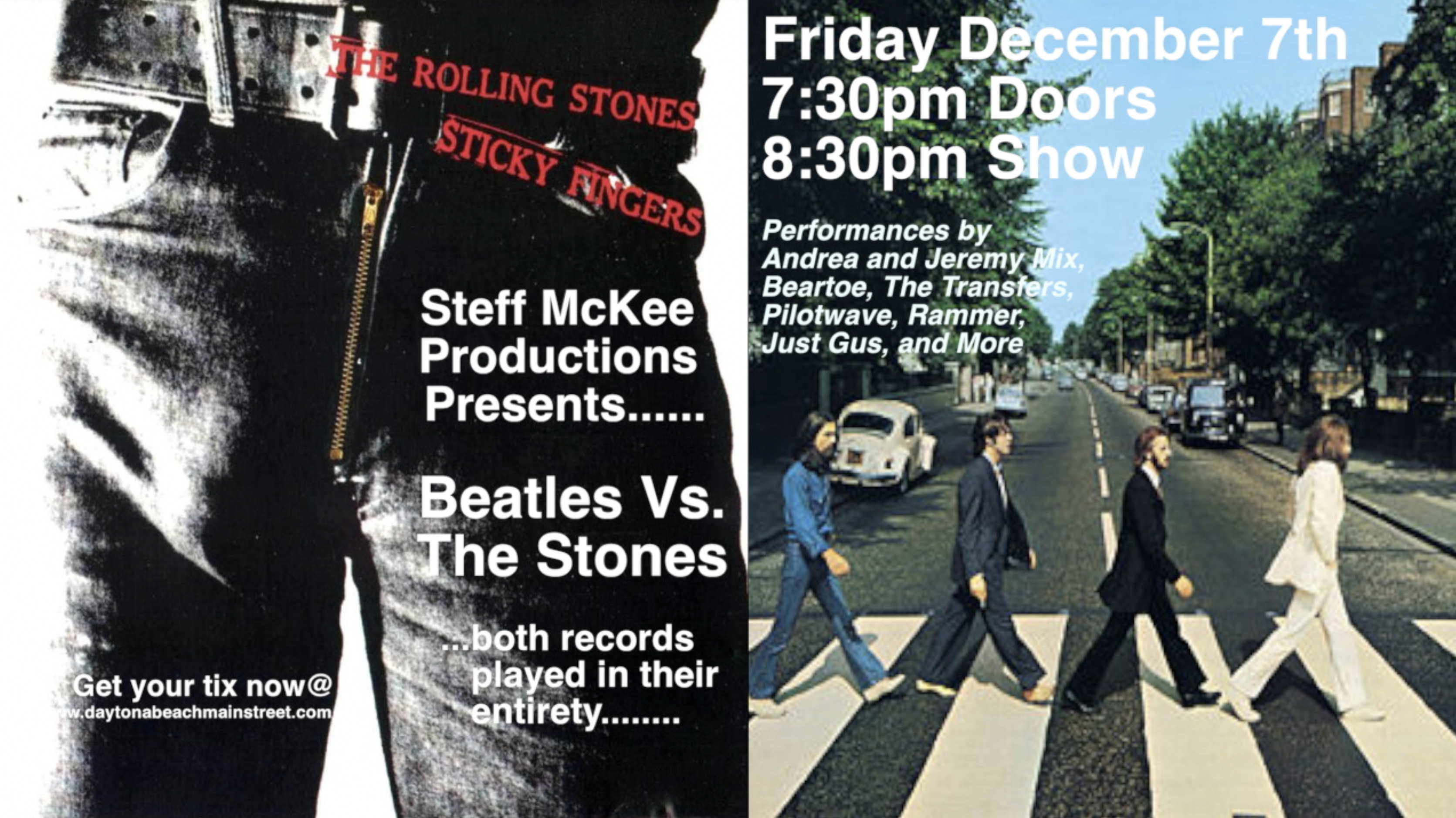 Sticky Fingers vs. Abbey Road