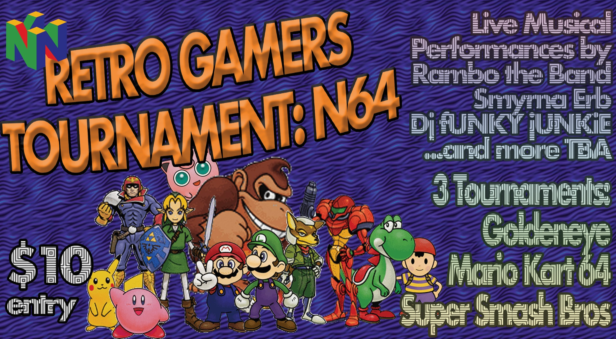 Retro Gamers Tournament: N64