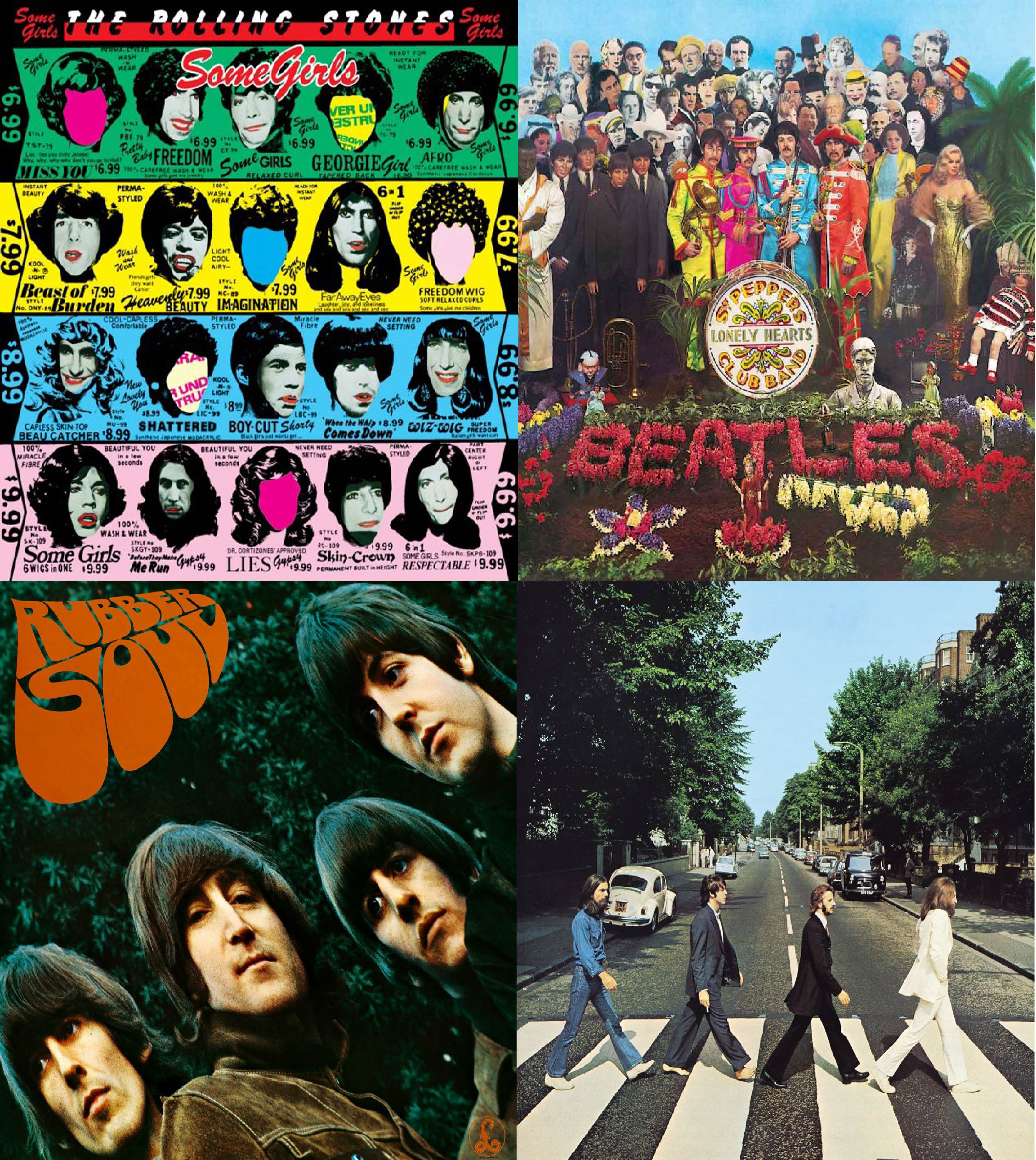 The Magnificent 12's Month with The Beatles