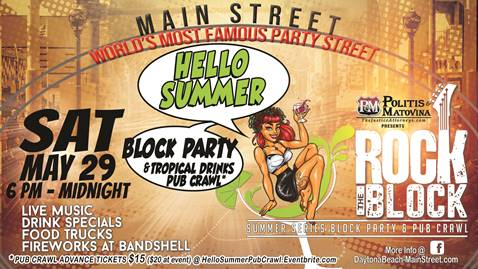 Hello Summer – Memorial Day Block Party